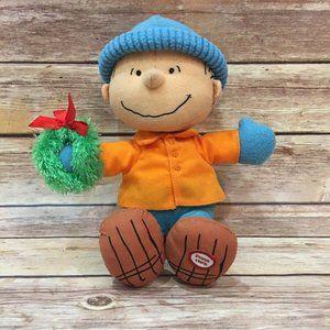 Hallmark 2011 Christmas Peanuts Linus Plush Talk